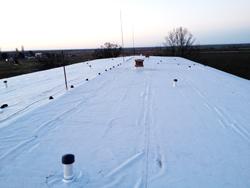 PVC покрив